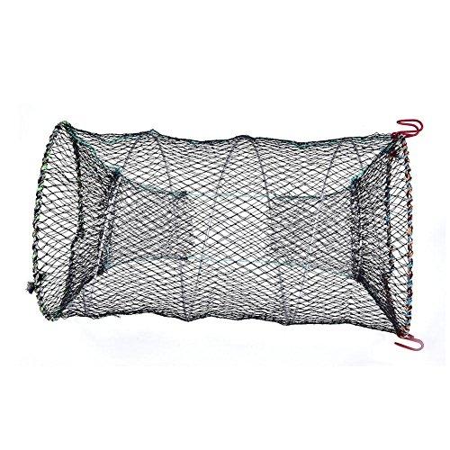 Starall Portable Fishing Net Nylon Automatic Foldable Catch Fish Baits Trap for Fishes Shrimp Minnows Crab Cast Mesh