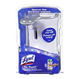Lysol No-Touch Automatic Hand Soap Dispenser, 3 Count (Colors May Vary)