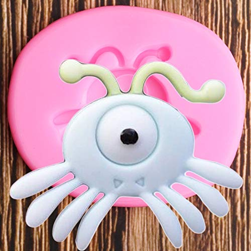 ZPZZPY Halloween Cartoon Silicone Moules DIY Party Fondant Cake Décoration Outils Candy Clay Chocolate Gumpaste Moulds