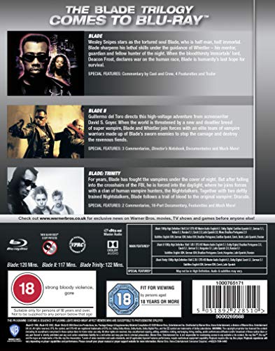 Blade Trilogy [Blu-ray] [2004] [Region Free]