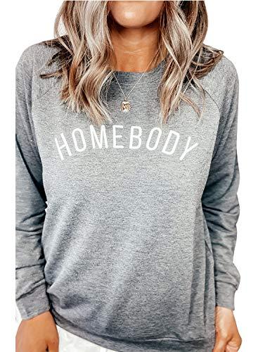 AlvaQ Damen Sweatshirt, Frottee, Anthrazit Gr. X-Large, grau