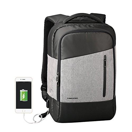 Mochila para portátil con USB para cargar smartphone