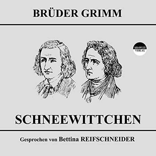 Schneewittchen audiobook cover art