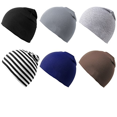 6 Packs of Infant Toddler Baby Unisex Cotton Soft Cute Lovely Newborn Kids Hat Beanies Caps