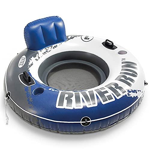 Intex 58825 River Run I - Aufblasbarer Schwimmsessel - Ø 135 cm