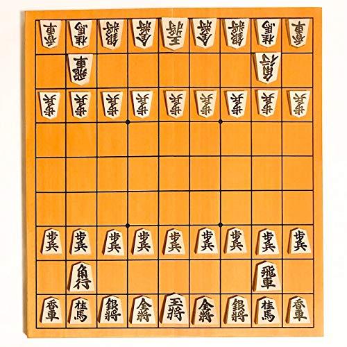 人気の将棋セット新桂5号折将棋盤と天童楓(かえで)押彫将棋駒【鈴花堂オリジナル駒の動き方カード付】