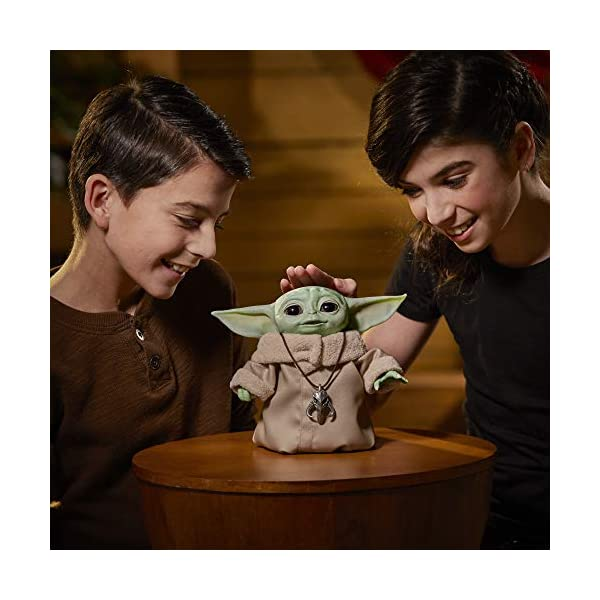 Star Wars The Child Animatronic Edition 7.2-Inch-Tall Toy by Hasbro with Over 25 Sound and Motion Combinations, Toys for Kids Ages 4 and Up 5