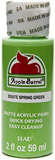 Apple Barrel Acrylic Paint in Assorted Colors (2 oz), 20587, Spring Green