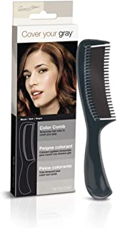 Irene Gari Cover Your Grey for Women Color Comb 10g/0.33oz - Black