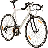 Galano 28 Zoll Rennrad Giro D'Italia 3 Rahmengrößen 2 Farben, Farbe:Weiss, Rahmengrösse:59 cm