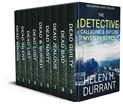 THE DETECTIVE CALLADINE & BAYLISS MYSTERY SERIES nine absolutely gripping crime thrillers box set (TOTALLY GRIPPING CRIME THRILLER BOX SETS) (English Edition)