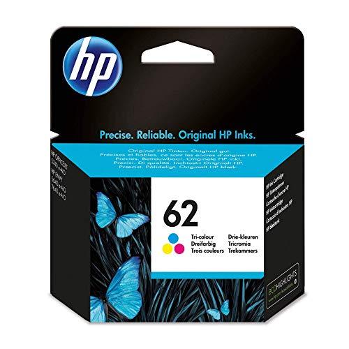 HP 62 Farbe Original Druckerpatrone für HP OfficeJet 200, 5740; HP ENVY 5540, 5640, 7640