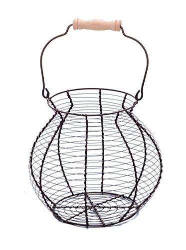 Cesta de alambre para huevos–Estilo clásico–por Trademark Innovations