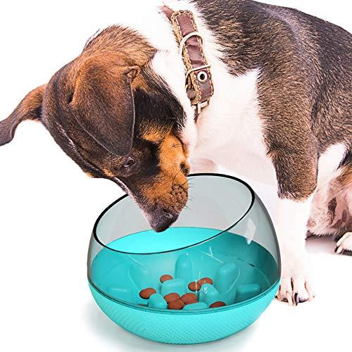 EONAZE Comedero para Que Perros coman despacio - Alimentación Lenta Interactivo Antivoracidad...