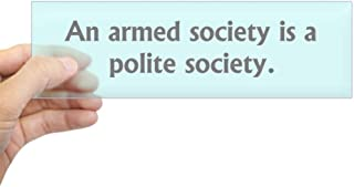 Best armed society polite society Reviews