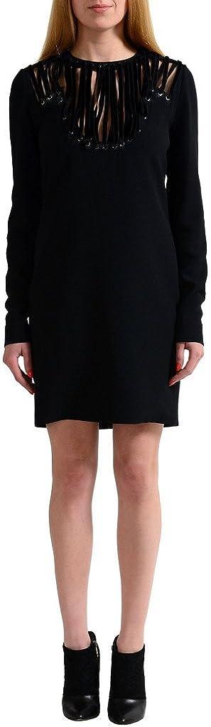Tom Ford Black Long Sleeves Women's Sheath Dress