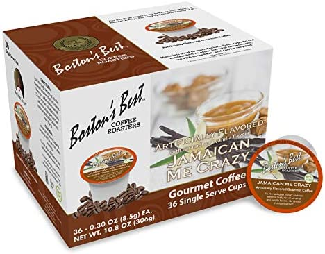 Jamaican Me Crazy Gourmet Coffee by Bostons Best for Unisex 36 Cups Coffee product image