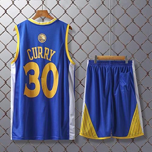 Camiseta De Baloncesto Para Hombre Golden State Warriors # 30 Stephen Curry Retro Transpirable Resistente Al Desgaste Chaleco Deportivo Shorts, Fan Edition Swingman Trajes De Jersey Deportivo