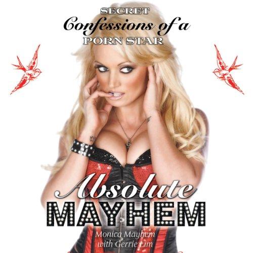 Absolute Mayhem audiobook cover art