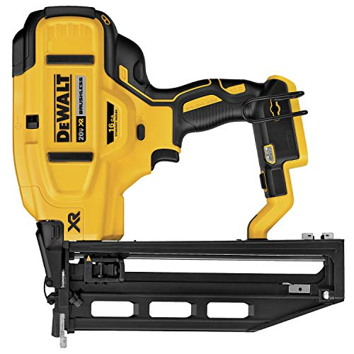 DEWALT 20V MAX XR Finish Nailer, Straight, 16GA (DCN662B)