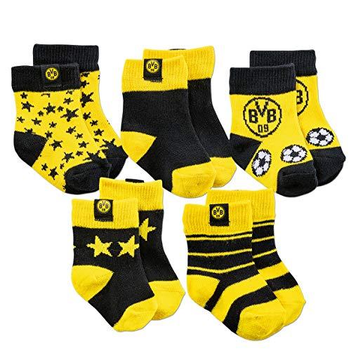 Borussia Dortmund BVB-Kleinkindersocken (5er-Pack) 04