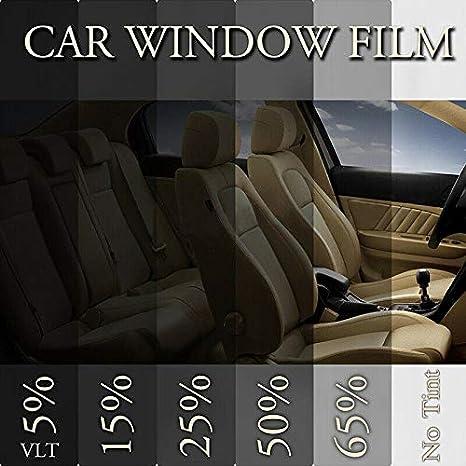 ACHICOO 50cm x 3m 15/% VLT Negro Pro Car Home Ventana de cristal tinte pel/ícula tinte pel/ícula 50 x 100 cm