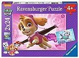 Paw Patrol Rompecabezas 2 x 24 piezas, multicolor, (Ravensburger 9152)
