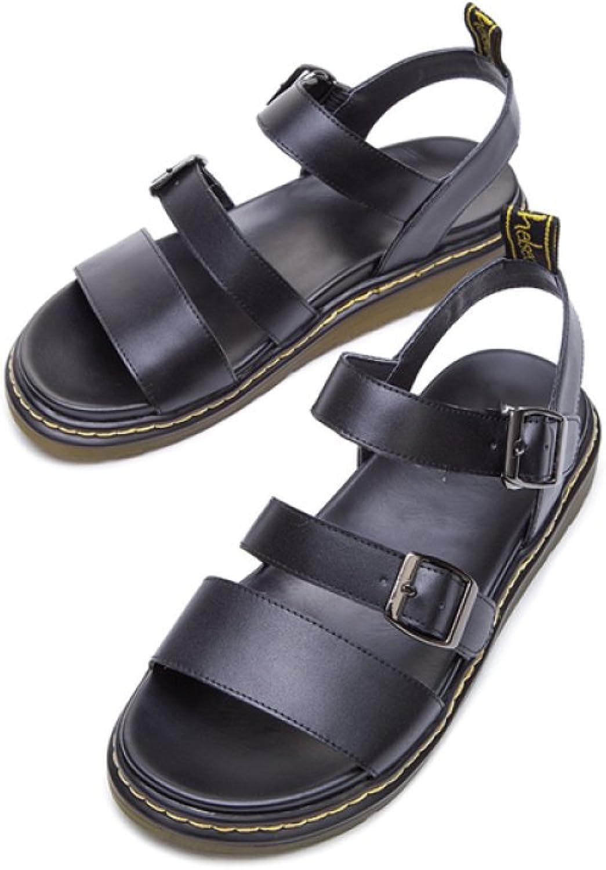 DHG Sommer Süße Sandalen, Modische Modische Modische Damen Hausschuhe, Casual Flache Sandalen, Low-Heel Einfarbig Zehensandalen, High Heels,Weiß,34  a9202d
