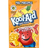 Kool-Aid Aguas Frescas Pina Pineapple Flavored Unsweetened Caffeine Free Powdered Drink Mix (0.14 oz Packet)