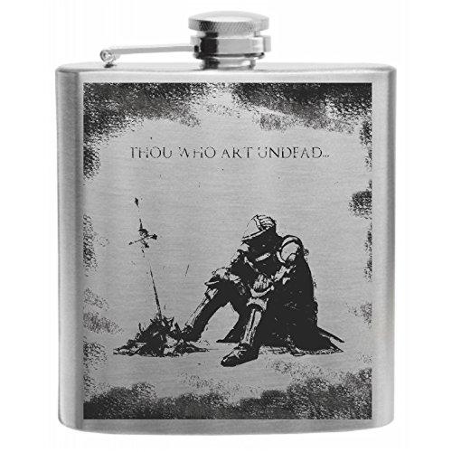 Crown Engraving Souls of The Dark Oscar Night of Astora Stainless Steel Hip Flask 6oz Gift