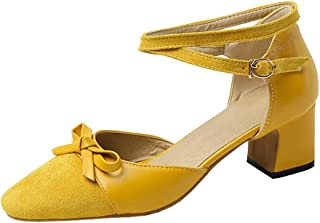 Zanpa Women Sweet Shoes Block Heels