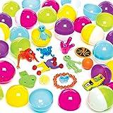 Baker Ross- Huevos con Sorpresa (Pack de 25) -Regalos infantiles para bolsas de cotillón
