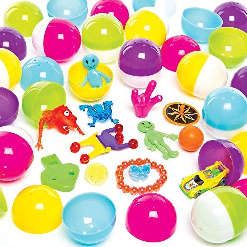 Baker Ross- Huevos con Sorpresa (Pack de 25) -Regalos infant