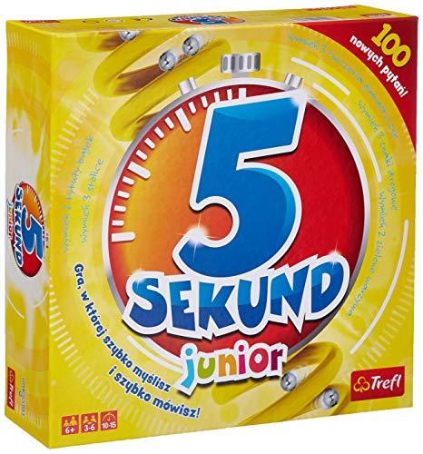 Trefl, 5 Sekund Junior, gra familijna, od 6 lat