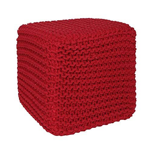 REDEARTH Cube Pouf