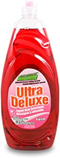 (Pack of 9) LAs Totally Awesome Ultra Dish Liquid Floral, 50oz