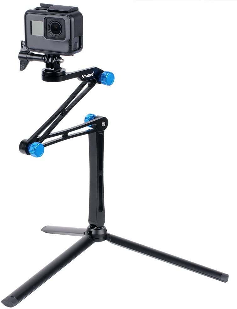 Smatree 3 Way Foldable Pole Monopod Compatible for Now free shipping Her MAX Be super welcome GoPro