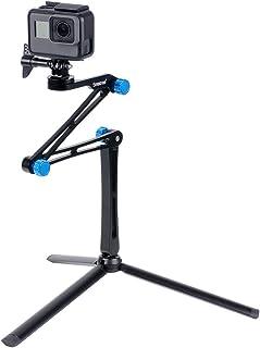 Smatree X1S Palo Selfie Stick Multifuncional con Trípode Fuerte para GoPro Hero 2018 Hero 8/7/6/5/4/3/2/1/Fusion Ricoh Theta S 4K Cámaras Deportiva de AcciónCámaras Compactas y Smartphones