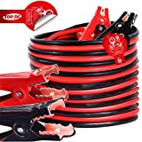 TOPDC Jumper Cables 4 Gauge 20 Feet Heavy Duty Booster Cables with Carry Bag or Box (4AWG x 20Ft)