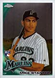 2010 Topps Chrome Baseball #190 Giancarlo (Mike) Stanton Rookie Card