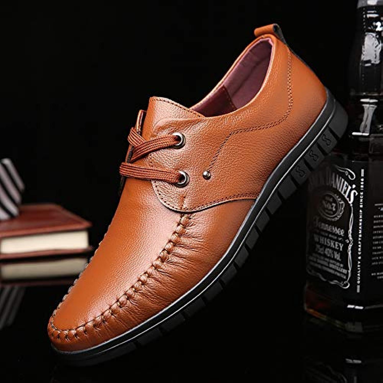 LOVDRAM Men'S Leather shoes shoes Men'S Deodorant shoes Soft Skin Men'S Leather Casual shoes Business Men'S shoes Fashion
