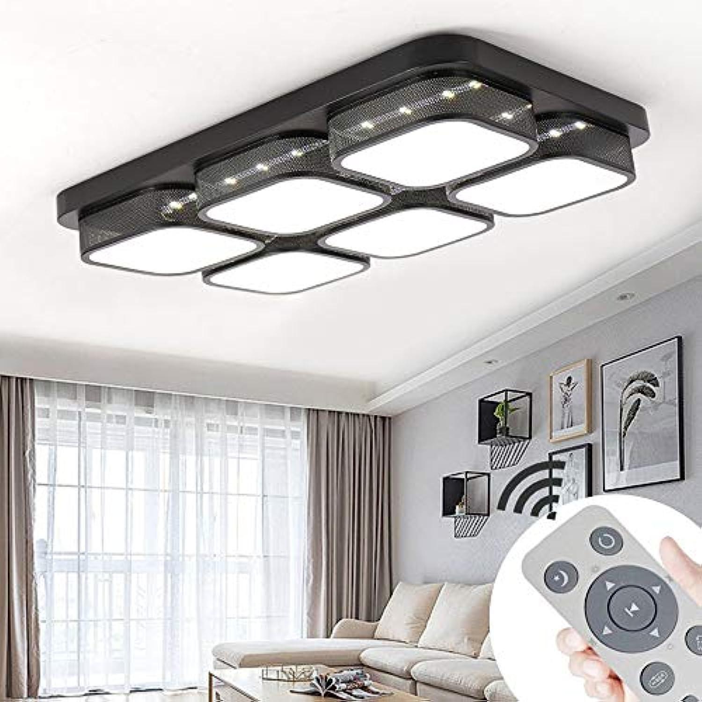 BMQXX 72W Modern LED Deckenleuchte Dimmbar Deckenlampe Wohnzimmer Flurleuchte Küche Panel Leuchte [Energieklasse A++]