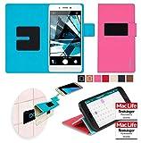 Hülle für Oppo Mirror 5s Tasche Cover Hülle Bumper   Pink   Testsieger