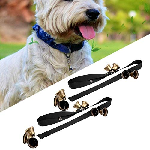 SALUTUYA 2pcs Dog Training Türklingel, langlebig und bissfest, Snap Button Design,...