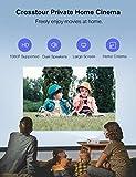 Zoom IMG-1 crosstour proiettore mini videoproiettore portatile