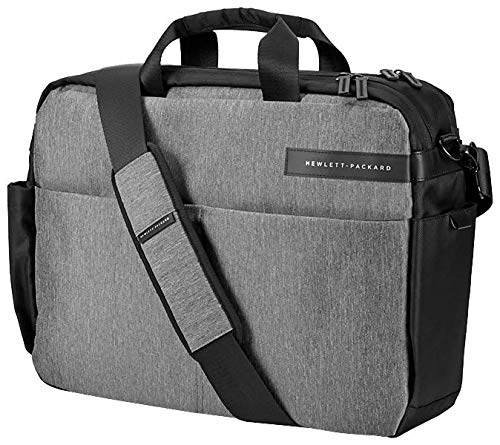HP Signature Top Load (L6V65AA) (Umhängetasche (für Notebooks, Laptops) 39,62 cm (15,6 Zoll) grau/schwarz