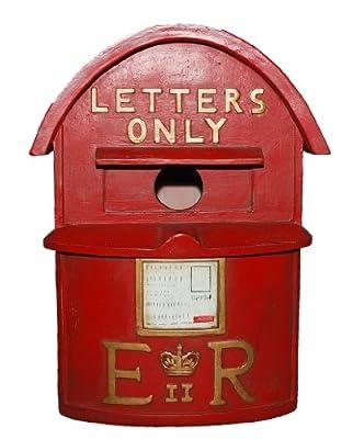Vivid Arts D-Letterbox Birdhouse - Red by Vivid Arts Ltd