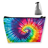 Tie Dye Makeup Bag Pencil Case Students Super Large Capacity Tye Gift Cosmetic Bag for Teen Girl Women Pen Pouch