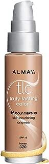 Almay TLC Truly Lasting Color 16 Hour Makeup, Beige 05 [240] 1 oz (Pack of 2)