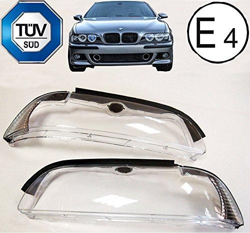 E39 5er Facelift Set Satz Scheinwerfer s Gehäuse Streuscheibe WeiàŸ 01-04